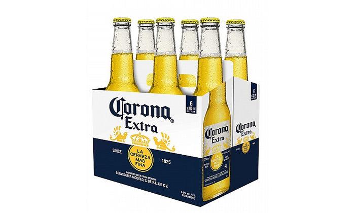 3 2 שישיות בירה היינקן או קורונה - איסוף עצמי מרשת בנא משקאות