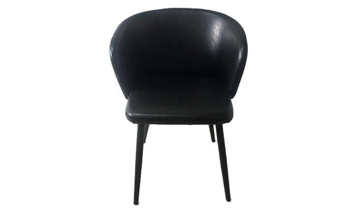 4 זוג כיסאות מרופדים