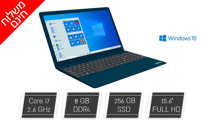 """2 מחשב נייד חדש EVOO דגם EVC156 עם מסך """"15.6, זיכרון 8GB ומעבד i7 - משלוח חינם"""