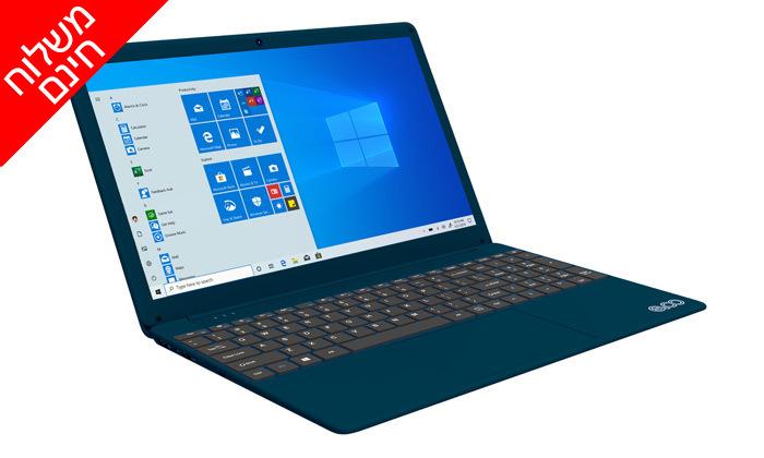 """3 מחשב נייד חדש EVOO דגם EVC156 עם מסך """"15.6, זיכרון 8GB ומעבד i7 - משלוח חינם"""