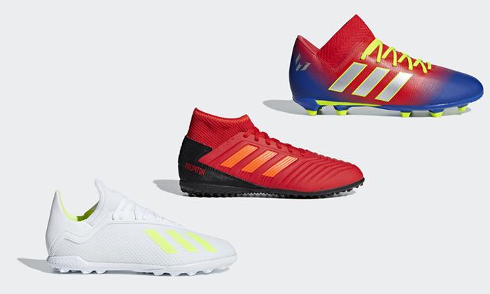 2 נעלי כדורגל לילדים ונוער אדידס adidas