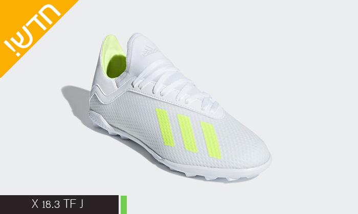 6 נעלי כדורגל לילדים ונוער אדידס adidas