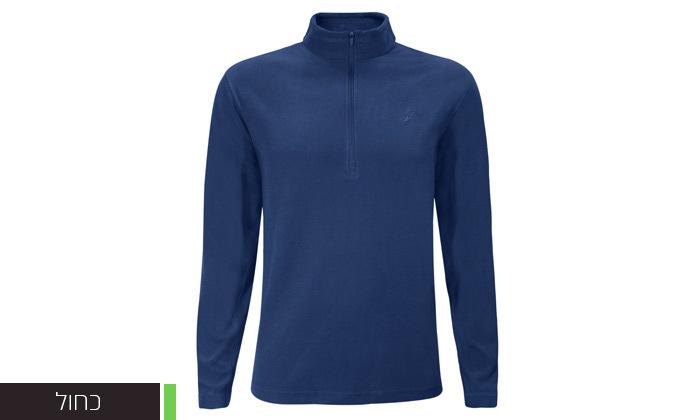 5 חולצת מיקרופליז לגברים OUTDOOR דגםMAR במבחר צבעים