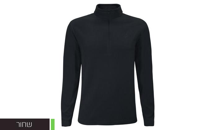 6 חולצת מיקרופליז לגברים OUTDOOR דגםMAR במבחר צבעים