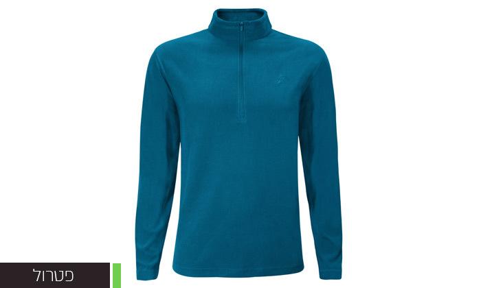 7 חולצת מיקרופליז לגברים OUTDOOR דגםMAR במבחר צבעים