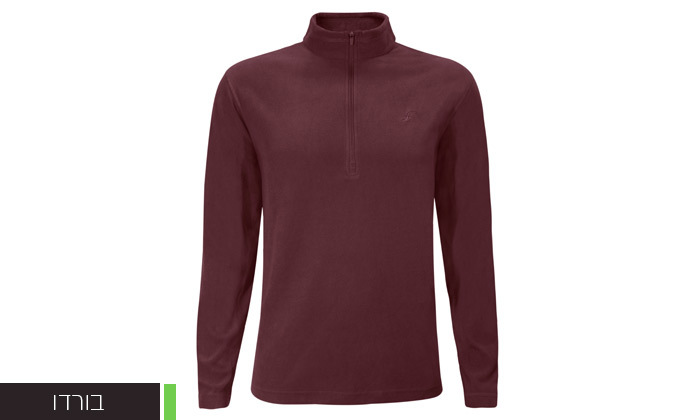 8 חולצת מיקרופליז לגברים OUTDOOR דגםMAR במבחר צבעים