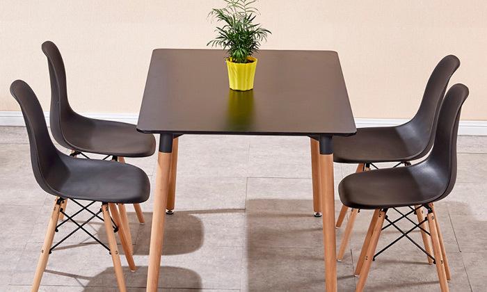 4 שולחן פינת אוכל דגם בוסטון