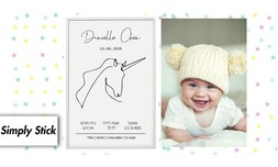 תעודת לידה בעיצוב אישי