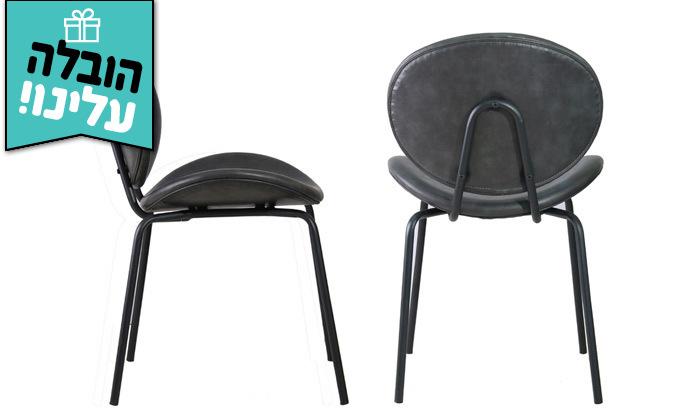 3 זוג כיסאות מרופדים HOME DECOR דגם מאור - משלוח חינם