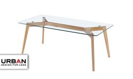 שולחן סלון מלבני GLASS