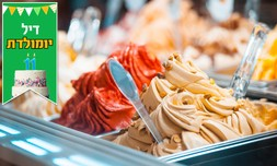 """1 ק""""ג גלידה מג'לטו פקטורי"""