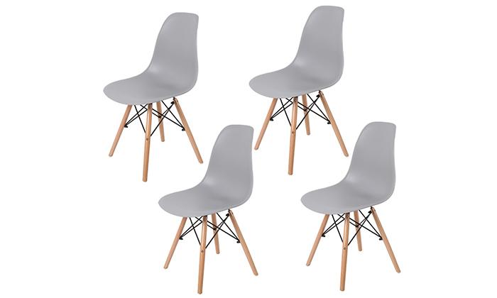 2 כיסא אוכלPlanero דגם מיאמי