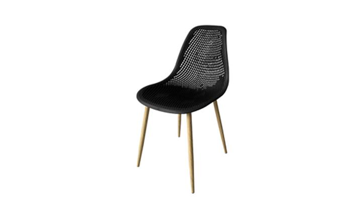 3 סט 4 כיסאות אוכלPlanero דגם טמפה