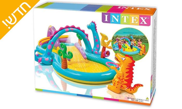 3 בריכת INTEX משחקי דרקונים