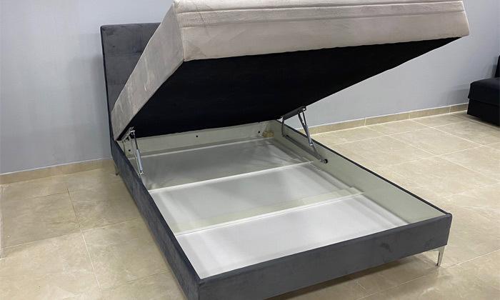 3 מיטה מרופדת עם ארגז מצעים ומזרן OR design, דגם קלייר
