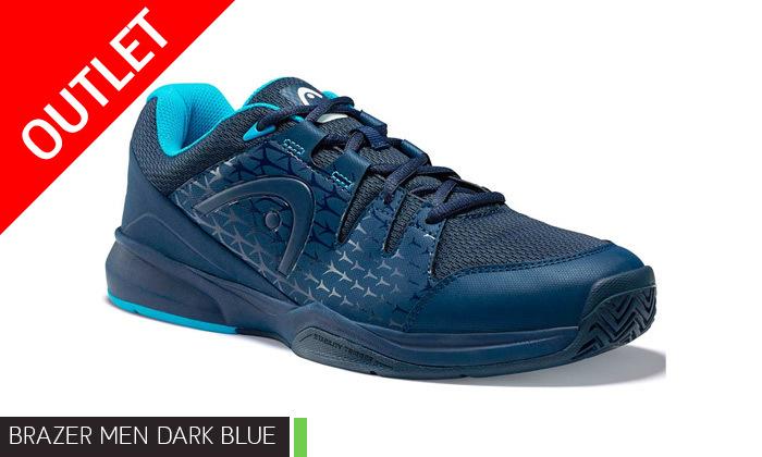 3 נעלי טניס לגברים הד HEAD דגם BRAZER