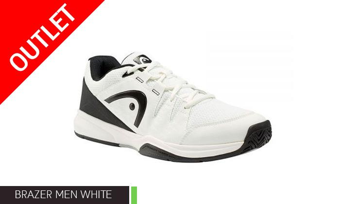 4 נעלי טניס לגברים הד HEAD דגם BRAZER