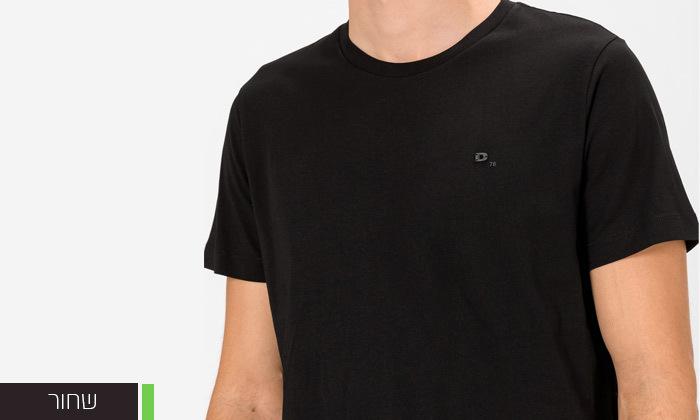 5 חולצה לגבר 100% כותנה דיזל DIESEL במגוון צבעים