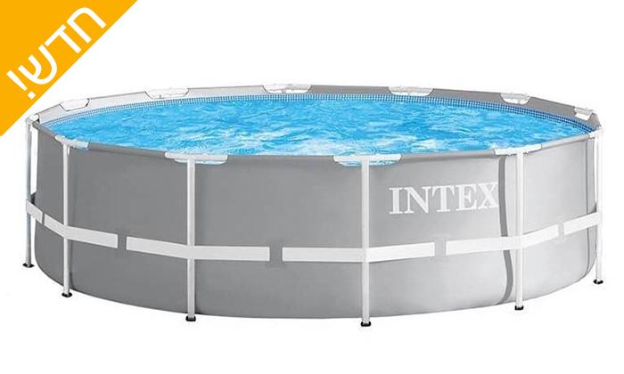 3 בריכת INTEX עגולה 3 מטרים