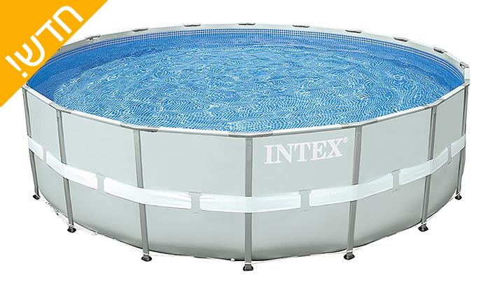 5 בריכת INTEX עגולה 3 מטרים