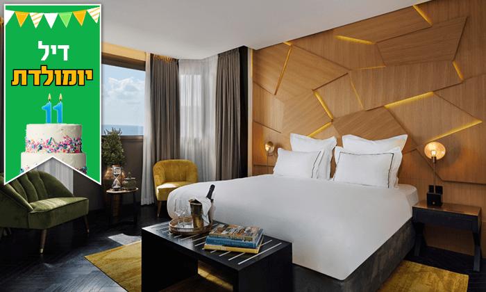 """6 מלון הבוטיק לייטהאוס LIGHTHOUSEHOTEL ת""""א, כולל עיסוי וארוחה"""