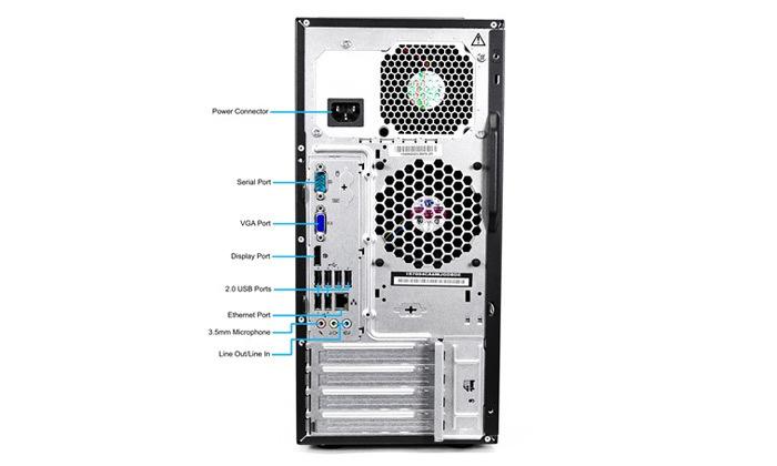 3 מחשב נייח מחודש לנובו Lenovo דגם M83Pעם זיכרון 16GB ומעבד i5