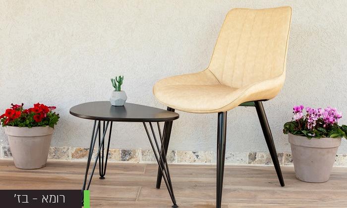 4 כיסא לפינת אוכל דגם רומא
