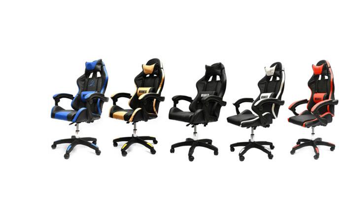 2 כיסא גיימינגROSSO ITALY דגם MSH123כולל מנגנון עיסוי