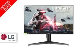 """מסך מחשב LG בגודל """"27"""