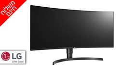"""מסך מחשב LG בגודל """"34"""