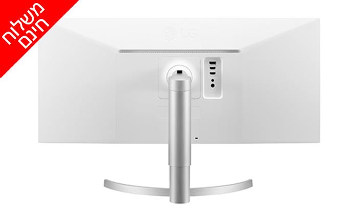 3 מסך מחשב רחב 34 אינץ' LG - משלוח חינם