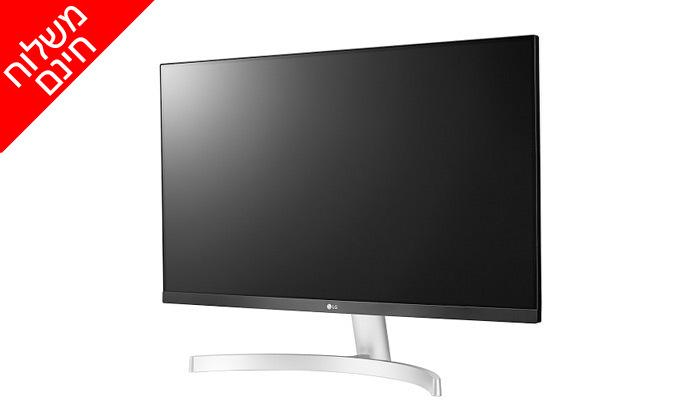 3 מסך מחשב LG בגודל 24 או 27 אינץ' - משלוח חינם