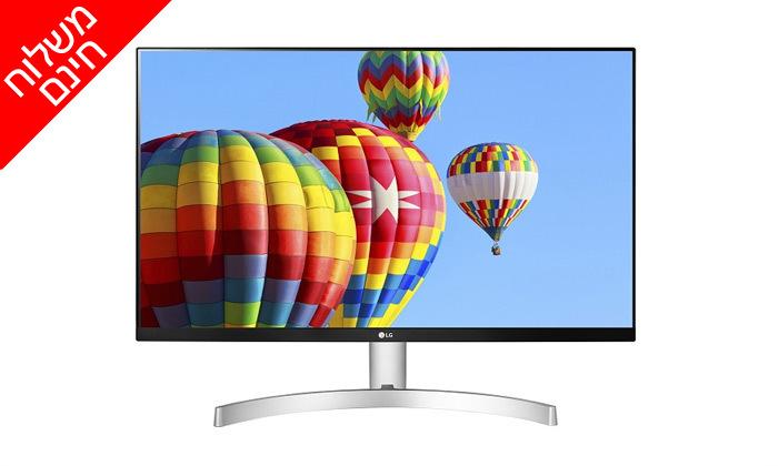 6 מסך מחשב LG בגודל 24 או 27 אינץ' - משלוח חינם