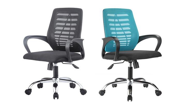 2 כיסא משרדי BRADEX, דגם BOSCO