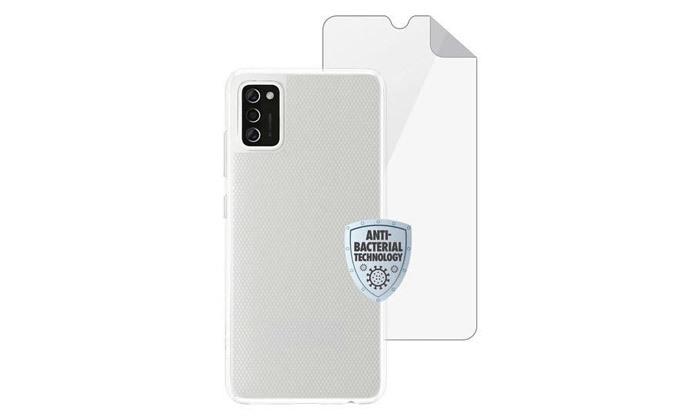 5 סמארטפון Samsung Galaxy A12 64GB עם סוללה ניידת וכיסויים