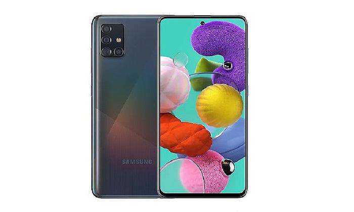 6 סמארטפון Samsung Galaxy A51 128GB עם סוללה ניידת וכיסויים