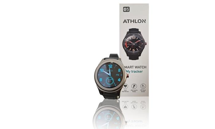 3 שעון ספורט חכם ATHLON דגם MY TRACKER