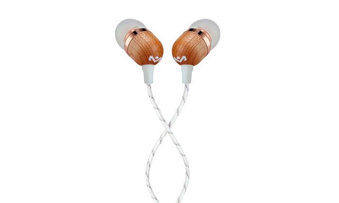 3 אוזניות House Of Marley דגם SMILE JAMAICA