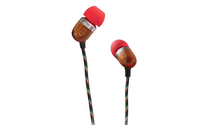 4 אוזניות House Of Marley דגם SMILE JAMAICA