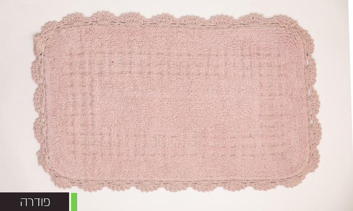6 שטיח אמבטיה WE HOME דגם תחרה
