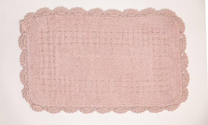 10 שטיח אמבטיה WE HOME דגם תחרה