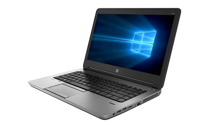 """4 מחשב נייד מחודש HP דגם 640 G2מסדרתProBook עם מסך """"14, זיכרון 16GB ומעבד i5"""