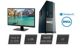 מחשב נייח DELL/HP i5 מאובזר