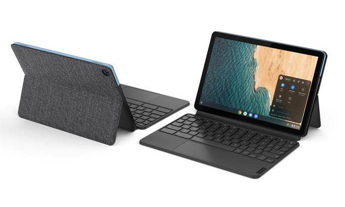 2 טאבלט ומקלדת לנובו Lenovo דגםDuet Chromebook בנפח 128GB SSD