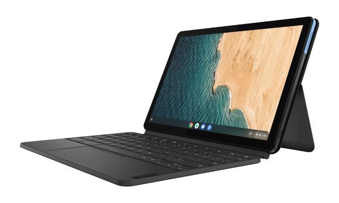 3 טאבלט ומקלדת לנובו Lenovo דגםDuet Chromebook בנפח 128GB SSD
