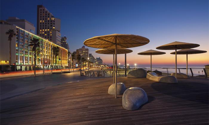 3 חופשה זוגית במלון הבוטיק Dream Beach TLV