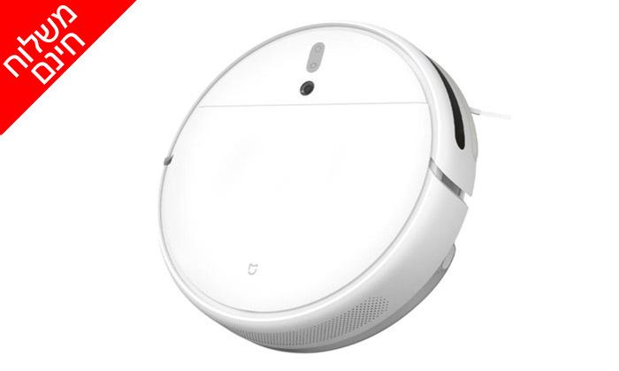 3 שואב אבק רובוטי Xiaomi, דגם Mi Robot Vacuum Mop - משלוח חינם