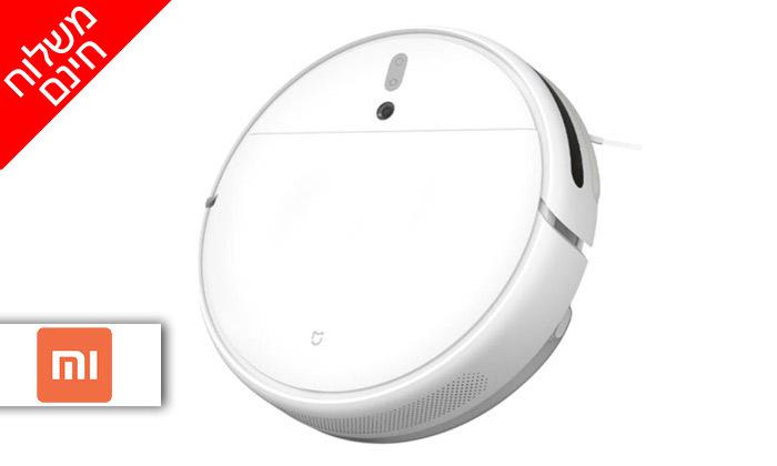 2 שואב אבק רובוטי Xiaomi, דגם Mi Robot Vacuum Mop - משלוח חינם