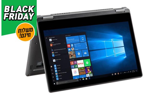 3 מחשב נייד DELL עם מסך טאצ' 13.3 אינץ' - משלוח חינם