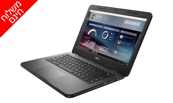 """5 מחשב נייד DELL דגם Latitude 3310 עם מסך מגע """"13.3 ומעבד i3 - משלוח חינם"""